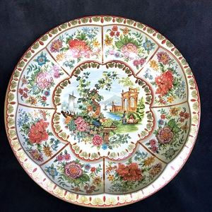 Other - Vintage Daher Floral Decorated Ware Tin Bowl/Tray